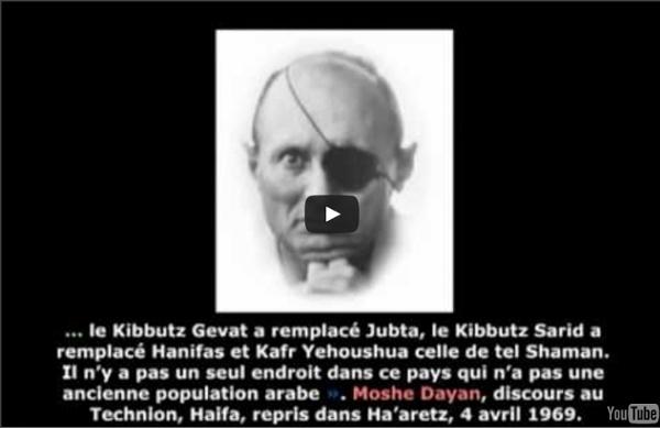 Programme Zionist extermination Palestiniens