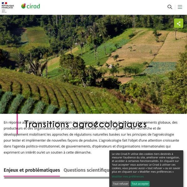 Accueil / Site Agroécologie - Agroecologie