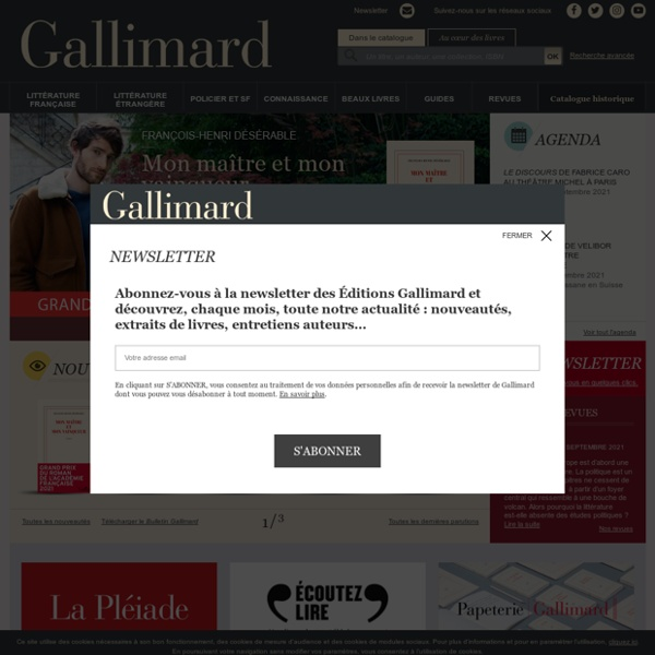 Les Editions Gallimard