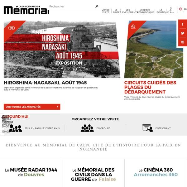 Site du mémorial de Caen
