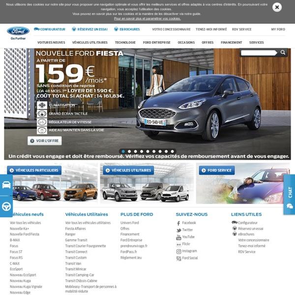 Site officiel de Ford France