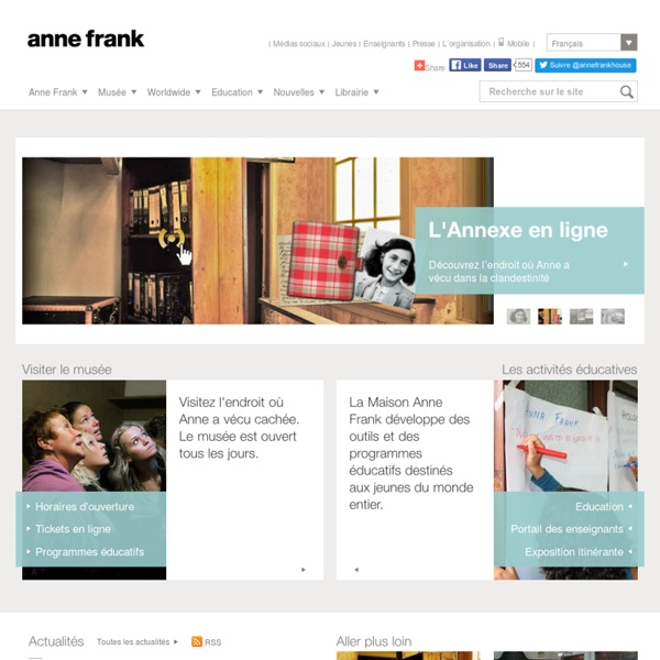 Site officiel de la Maison d'Anne Frank