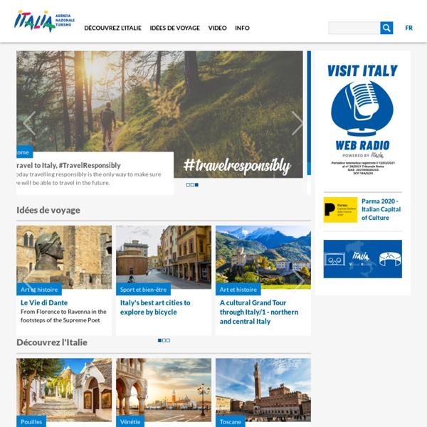 Site officiel du tourisme en Italie