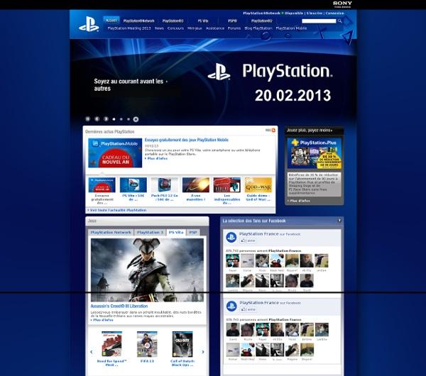 Site PlayStation officiel