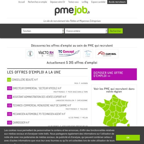 Site de recrutement et d'offres d'emploi des PME