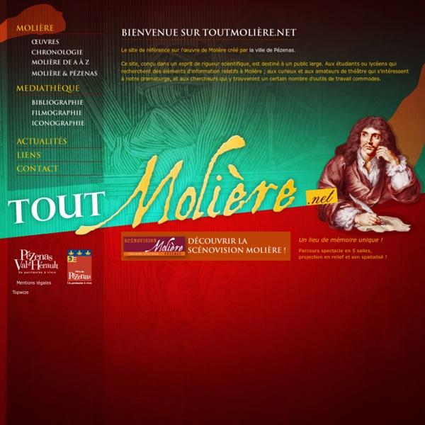 Tout Molière - Le site de référence sur l'œuvre de Molière
