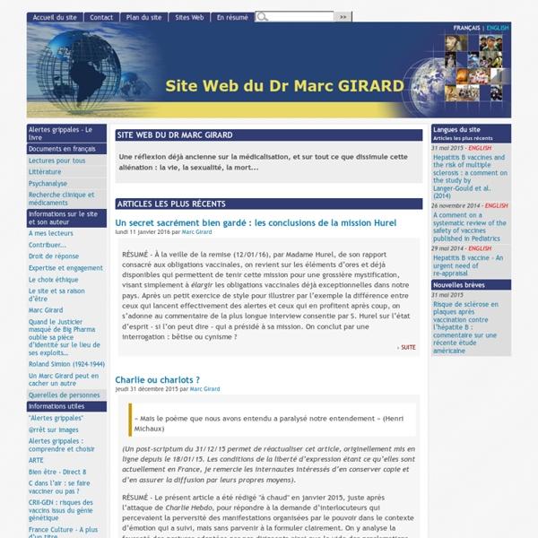 [Site Web du Dr Marc GIRARD]