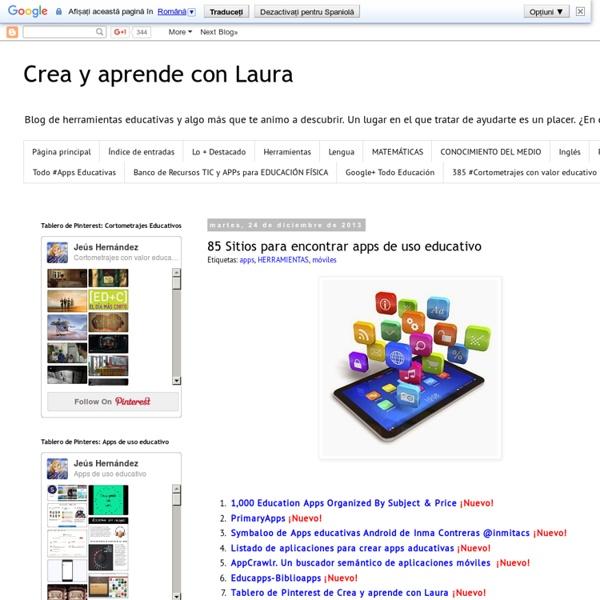 Sitios para encontrar apps educativas