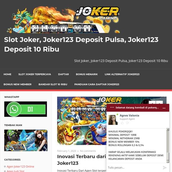 Situs Slot Online Terbaik Dan Terpercaya