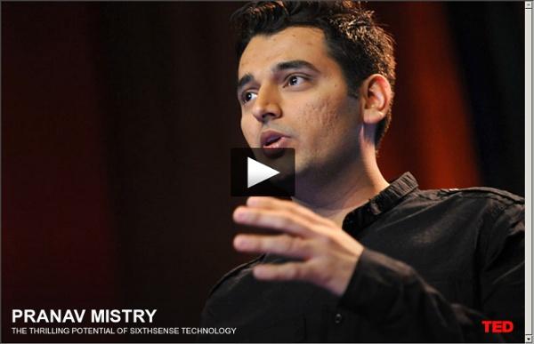 Pranav Mistry: O potencial fantástico da tecnologia SextoSentido