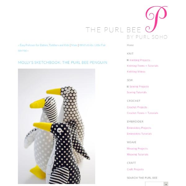 Purl Bee Penguin