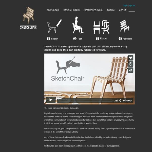 SketchChair by Diatom Studio