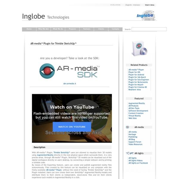 AR-media™ Plugin for Google™ SketchUp™