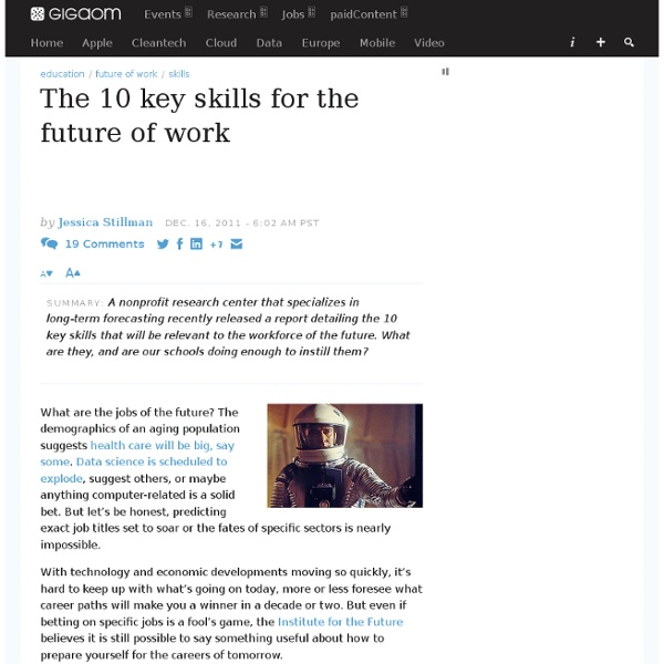 The 10 key skills for the future of work — Online Collaboration