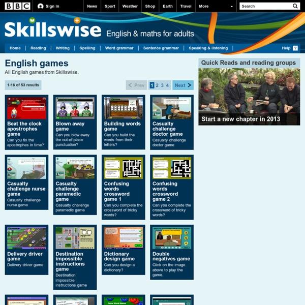 Skillswise - English Games