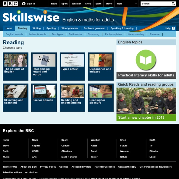 Skillswise - Reading
