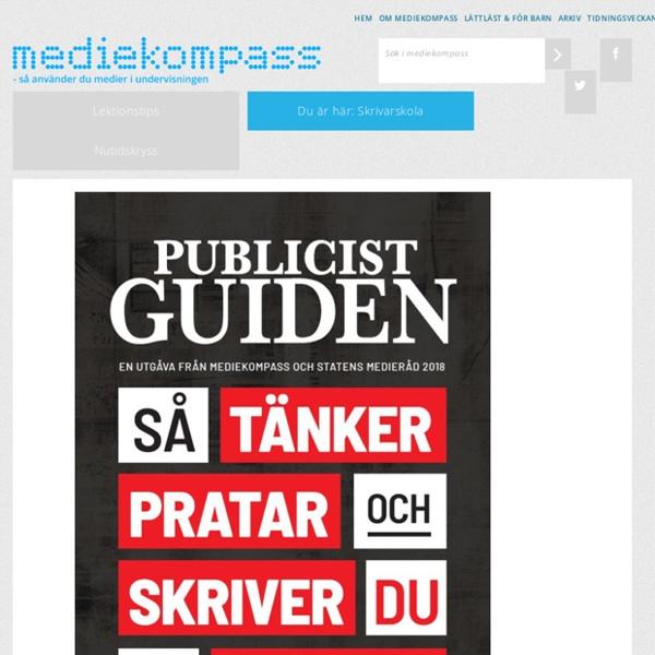 Skrivarskola - Mediekompass