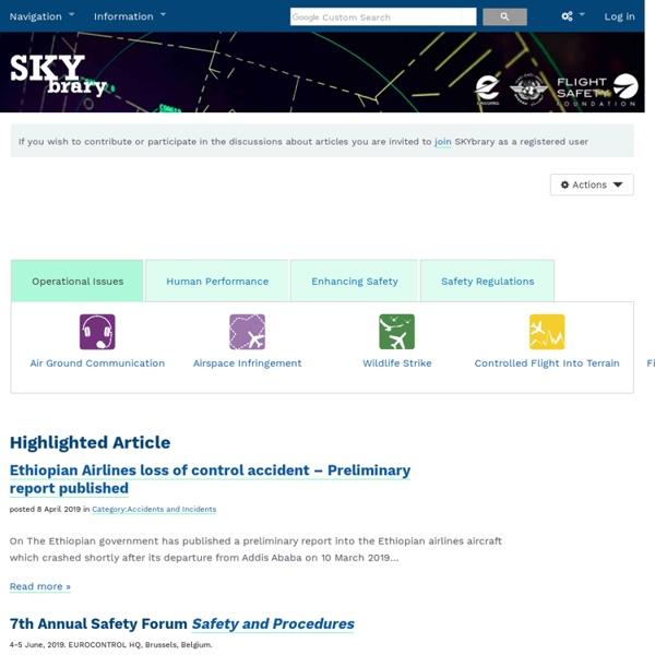 SKYbrary Aviation Safety