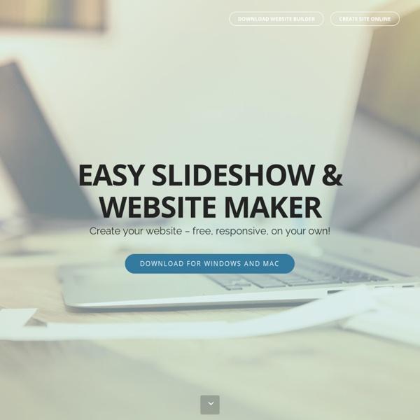 Free SlideShow Maker. Visual JavaScript SlideShow