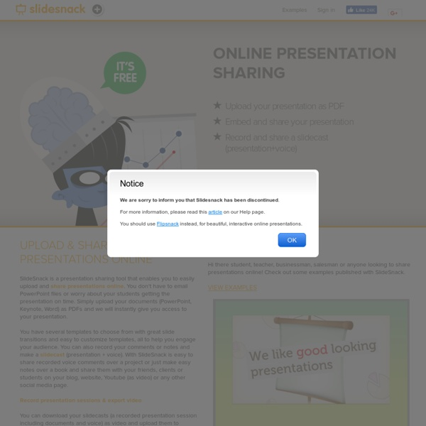 upload share presentations online pearltrees