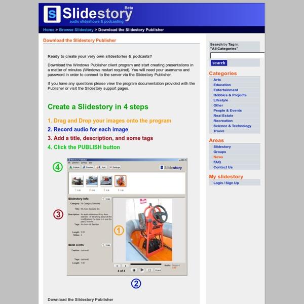 Slidestory Download the Slidestory Publisher