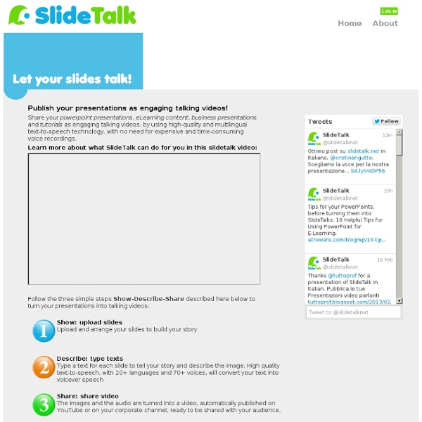 SlideTalk - turn your presentations into engaging talking videos