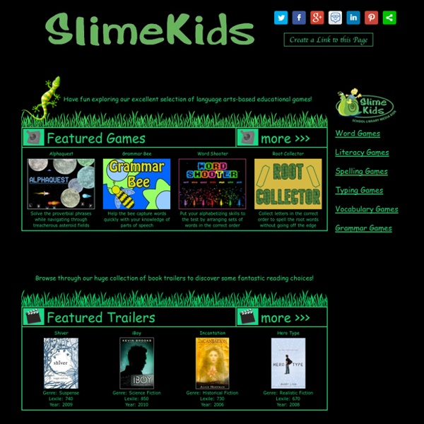 Educational Games - A website built for students