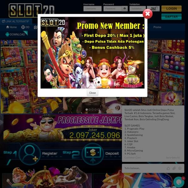 Slot2D : Situs Slot Pulsa Online, Skor88, Bola88 Link