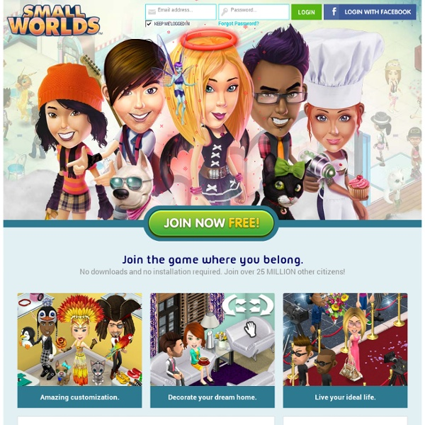 SmallWorlds: The Game Where You Belong! Join Free