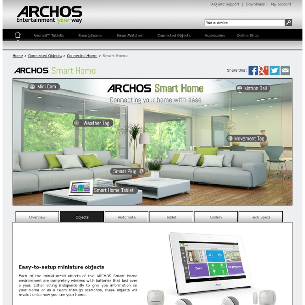 Smart Home by ARCHOS