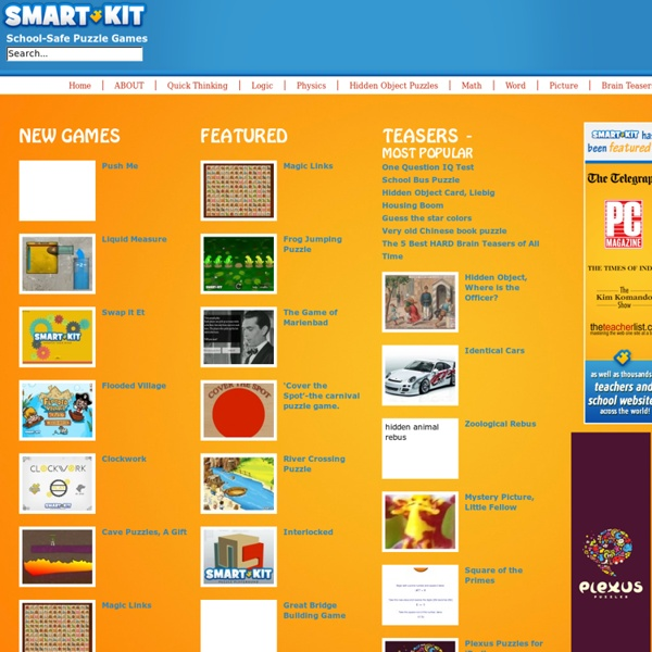 Smart Kit: School-Safe Games & Puzzles