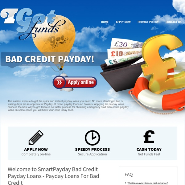 how to get a payday loan with bad credit
