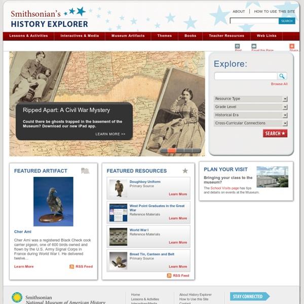 Smithsonian's History Explorer