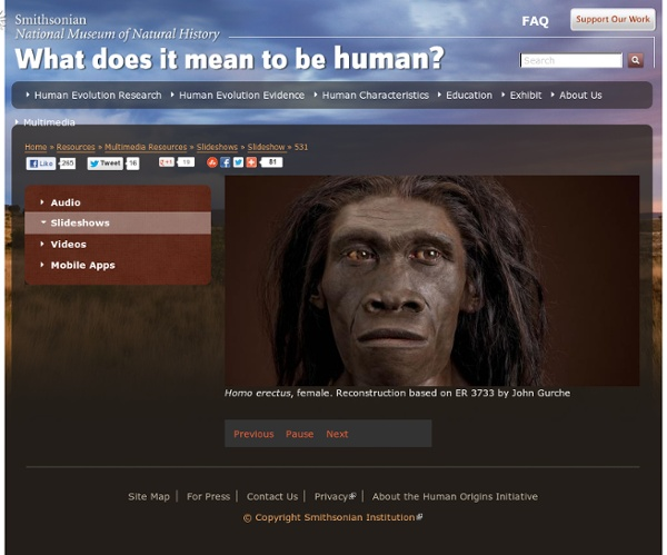 The Smithsonian Institution's Human Origins Program