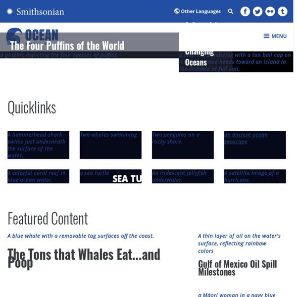 Smithsonian Ocean Portal