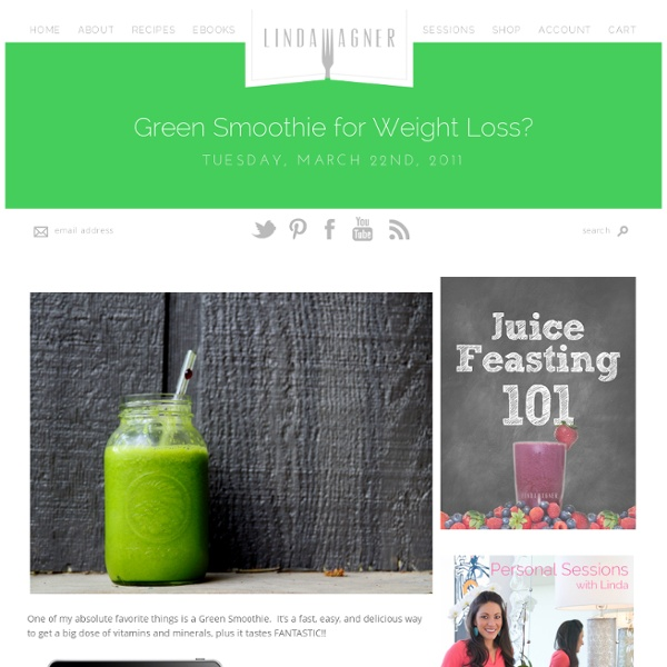 Green Smoothie for Weight Loss?