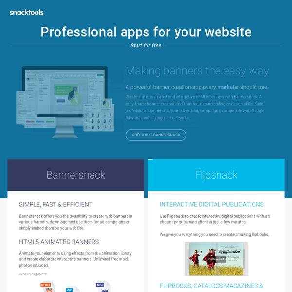 SnackWebsites: Free website builder