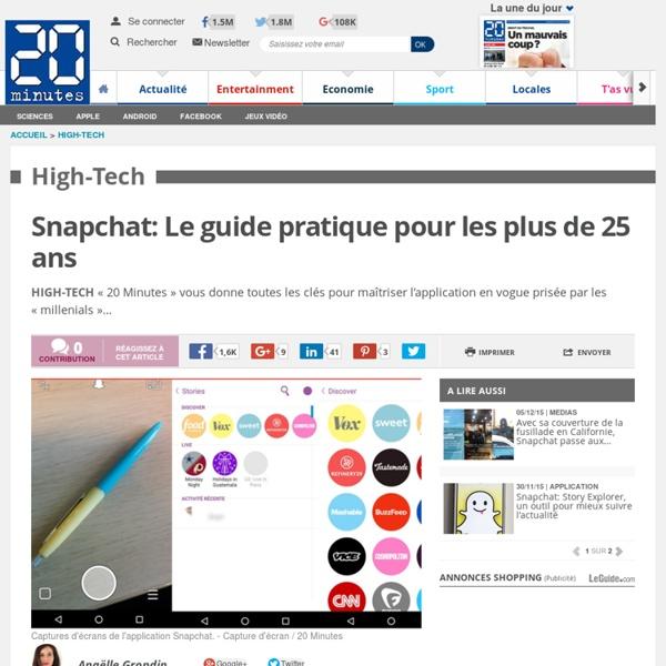Snapchat: Le guide pratique pour les plus de 25 ans