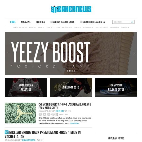 Sneaker News Jordans, release dates & more. | Pearltrees