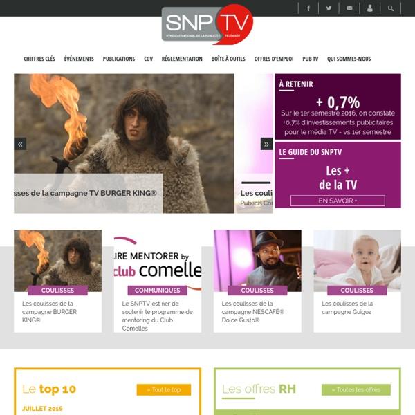 Syndicat National de la Publicité TéléVisée - SNPTV