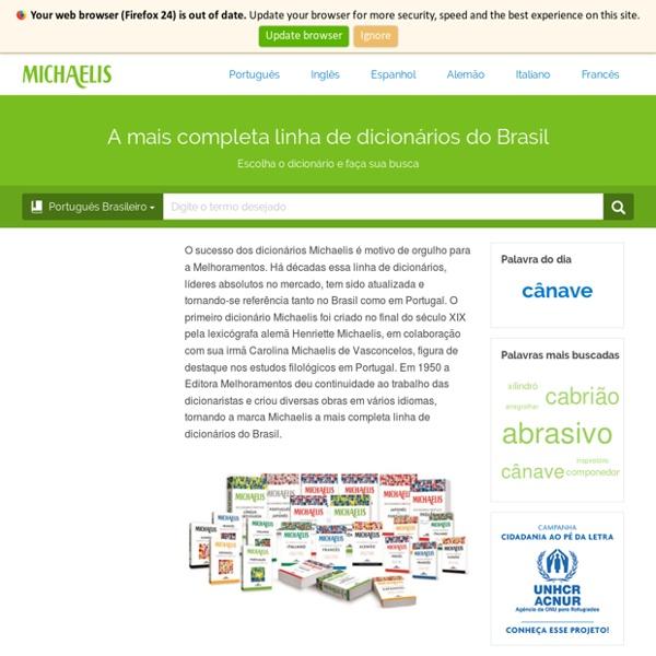 Dicionário Online - Dicionários Michaelis