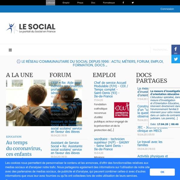 Le Social - Travail & Emploi Social