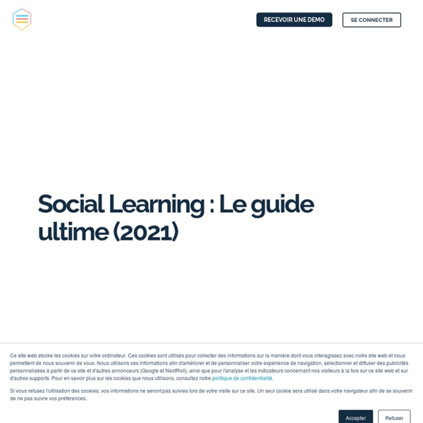 Social Learning : Le guide ultime de l'apprentissage social