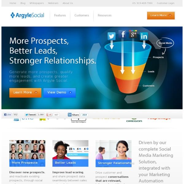 Social Media Marketing Software by Argyle Social