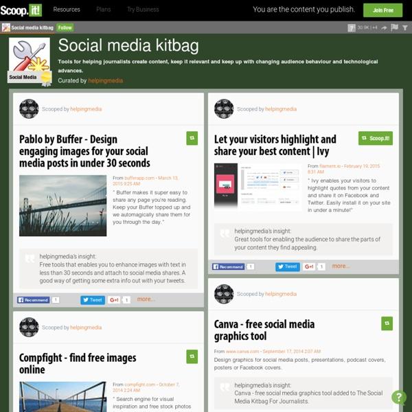 Social media kitbag