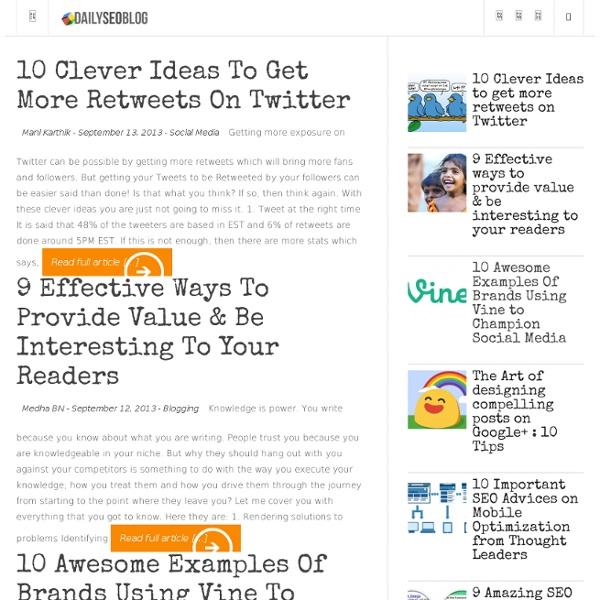 16 High Resolution Social Media Bookmark Logos and Icon Sets