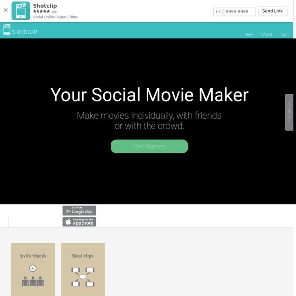 Social Online Video Editor