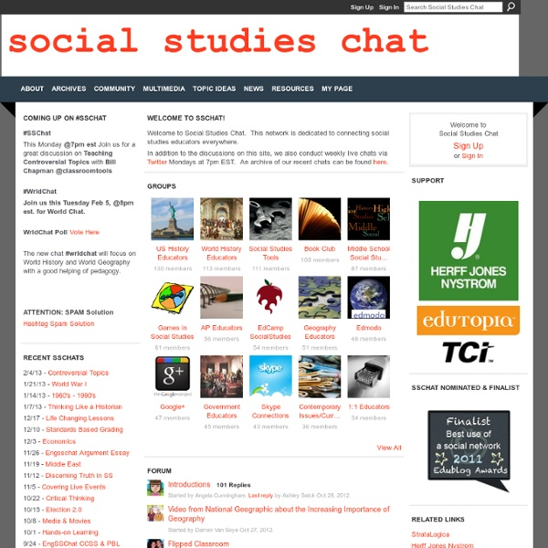 Studi Sociali Chat