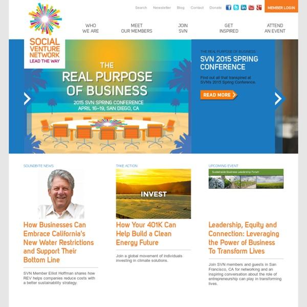 Social Venture Network - Social Venture Network