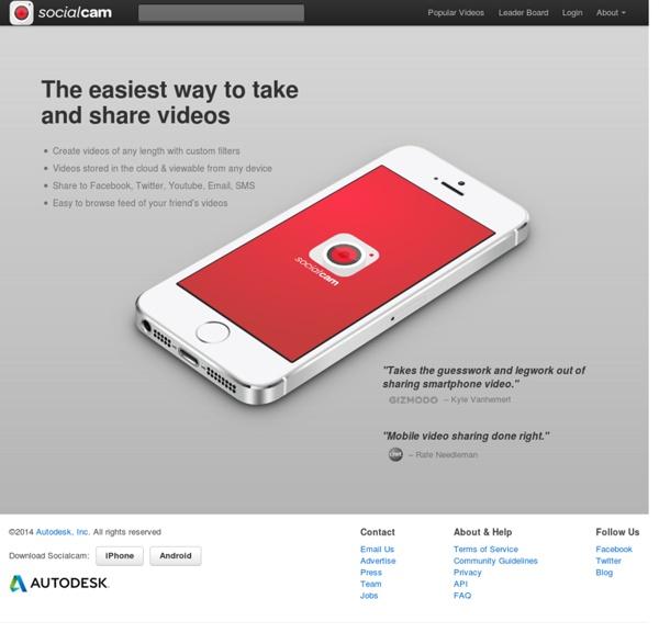 Download socialcam video